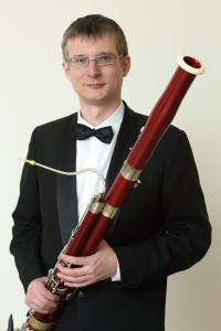 Андрей Рудометкин (фагот).  Фото - Андрей Мустафаев