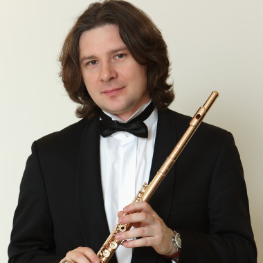 Николай Попов (флейта). Фото - Андрей Мустафаев