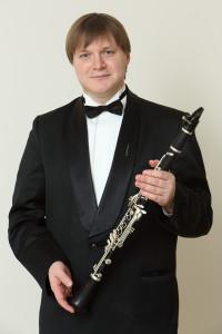 Сергей Петров (кларнет). Фото - Андрей Мустафаев