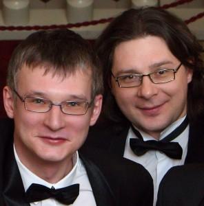 Андрей Рудометкин и Николай Попов